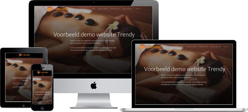 wordpress website voorbeeld