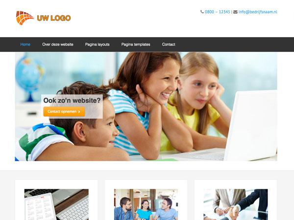 Website voorbeeld demo 2