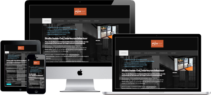 responsive wordpress website studio inside out
